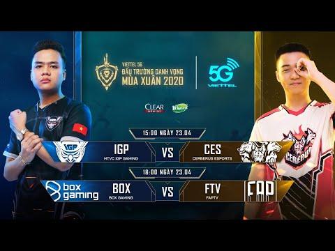 IGP vs CES | BOX vs FTV [23.04.2020] - Viettel 5G ĐTDV mùa Xuân 2020