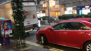 Torrential Rain Causes Flooding in Hong Kong