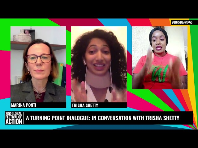A Turning Point Dialogue: In Conversation with Trisha Shetty
