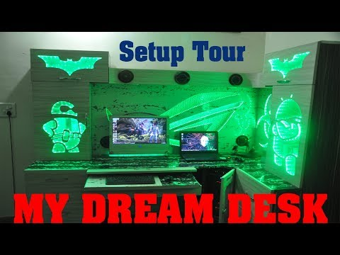 My Dream Desk Setup Tour