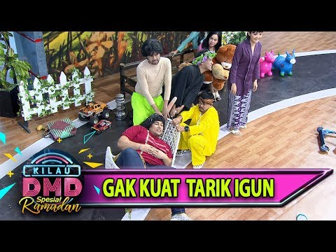 Saking Besarnya, Raffi-Wendy-Ruben Gak Kuat Tarik Igun - Kilau DMD (24/5)