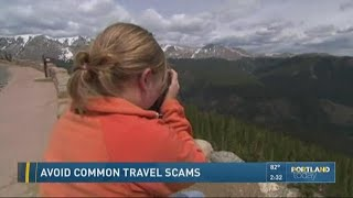 Avoid common travel scams