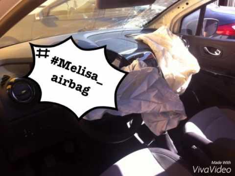 Renault Captur 2013 Airbag Crash Youtube