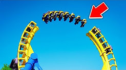 10 SCARIEST Roller Coasters IN HISTORY!
