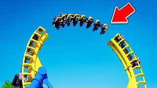 Top 10 DEADLIEST Roller Coasters YOU WONT BELIEVE EXIST! thumbnail