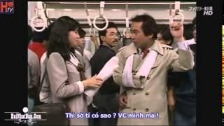 Hài Nhật Bản Những kiểu biến thái trên tàu điện
