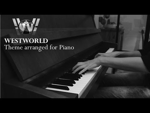 westworld main theme cover - solo piano