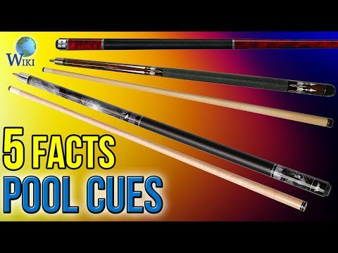 Pool Cues: 5 Fast Facts