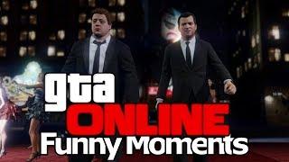 BESCHERM DE YOUTUBER!! GTA V ONLINE - Funny Moments