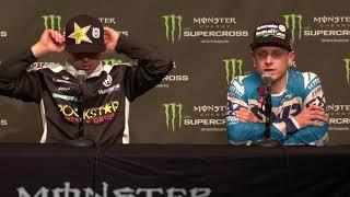 250SX Post Race Press Conference - Arlington - Race Day LIVE 2018