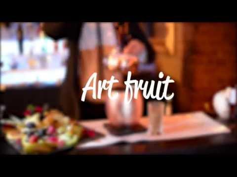 Home Hire Bartender - Fruit Art