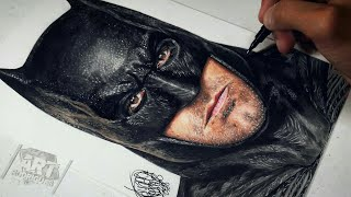 Drawing Batman | Justice League (Ben Affleck)