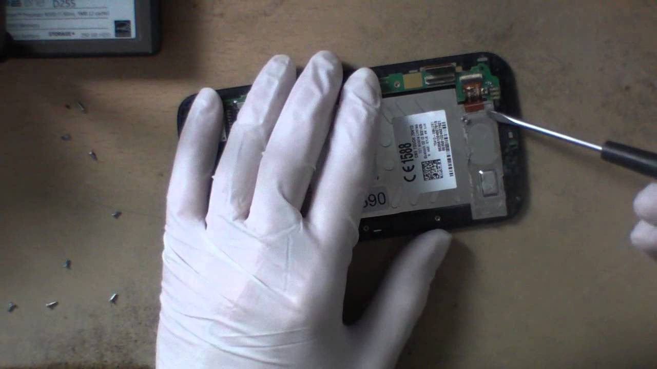 Disassembly Alcatel One Touch 7041D Pop C7