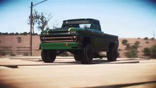 Need for Speed  Payback Chevrolet C10 Stepside Pickup 1965組裝車位置分享