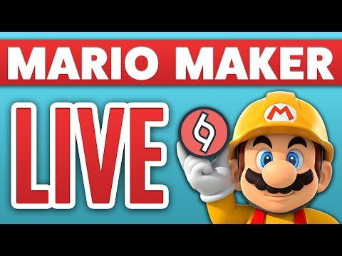 [LIVE] Super Mario Maker - Your RANDOM Levels! [Use !add 0000-0000-0000-0000]
