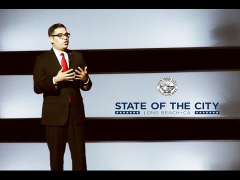State of the City Address 2015 Long Beach, CA Mayor Robert Garcia Speech (full length)