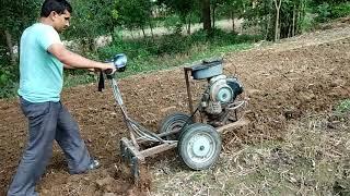 Small tractor Invention for farmers ( किसानों के लिए छोटे ट्रैक्टर का आविष्कार )