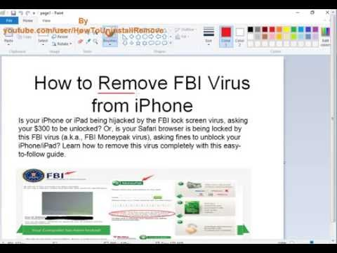 how to remove safari from iphone how to remove fbi warning scam on iphone in safari 6749
