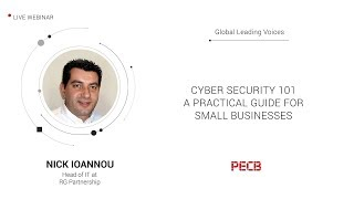 Cyber Security 101 – A Practical Guide for Small Businesses