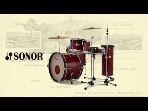 SONOR Vintage Series: Making of / New Red Oyster