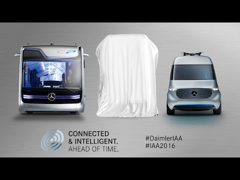 Daimler Media Night at IAA Commercial Vehicles - Mercedes-Benz original