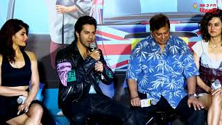 Judwaa 2 trailer launch   Varun Dhawan, Jacqueline & Taapsee    RJ Suren   Radio Mirchi