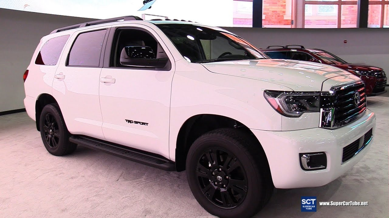 2019 Toyota Sequoia Trd Sport Exterior And Interior Walkaround 2019 Detroit Auto Show
