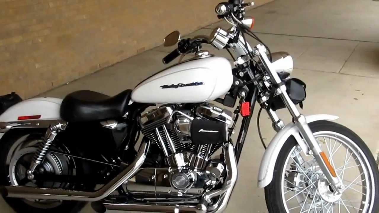 White Harley Davidson: 2004 Harley-davidson Sportster, Pearls White, 1200 Custom
