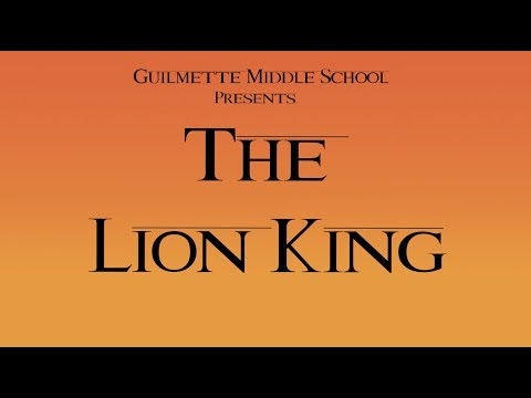 The Lion King - Guilmette Middle