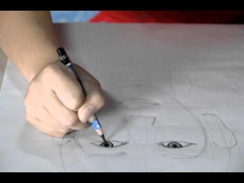 สอนน้องๆวาดภาพเหมือน