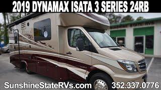 New 2019 Dynamax Isata 3 Series 24RB Class B Plus RV Video