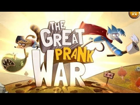 Regular Show - The Great Prank War [ Full Gameplay ] - Regular Show Games