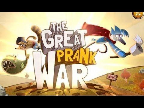 Regular Show – The Great Prank War [ Full Gameplay ] – Regular Show Games