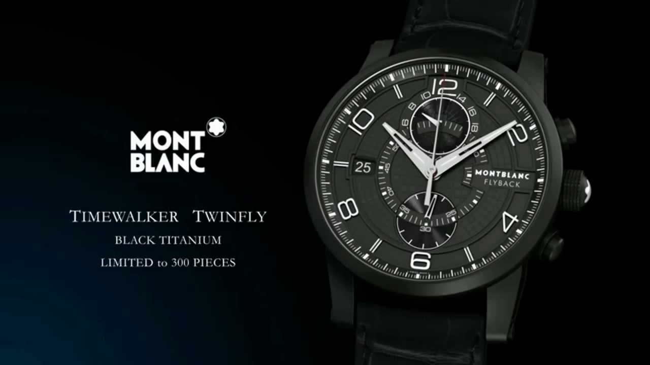 1076b95ed53 Montblanc - Timewalker Twinfly - YouTube