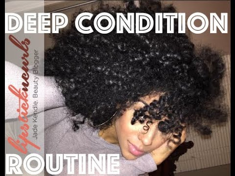 Deep Conditioning Routine Using Bee Mine Bee-YOU-Ti-Ful Deep Conditioner