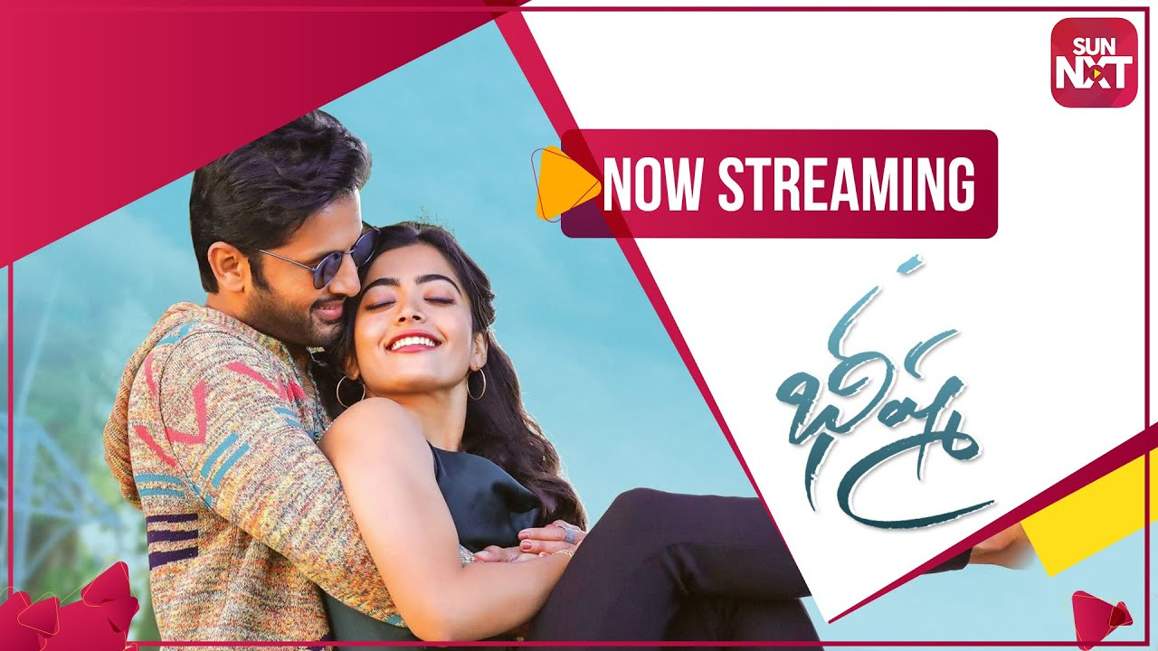 Bheeshma Full Movie Streaming Now On Sunnxt Telugu Movie Nithiin Rashmika Mandanna Youtube