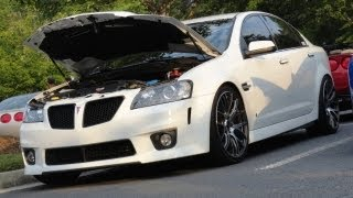 Pontiac G8 GT LOUD sounds!