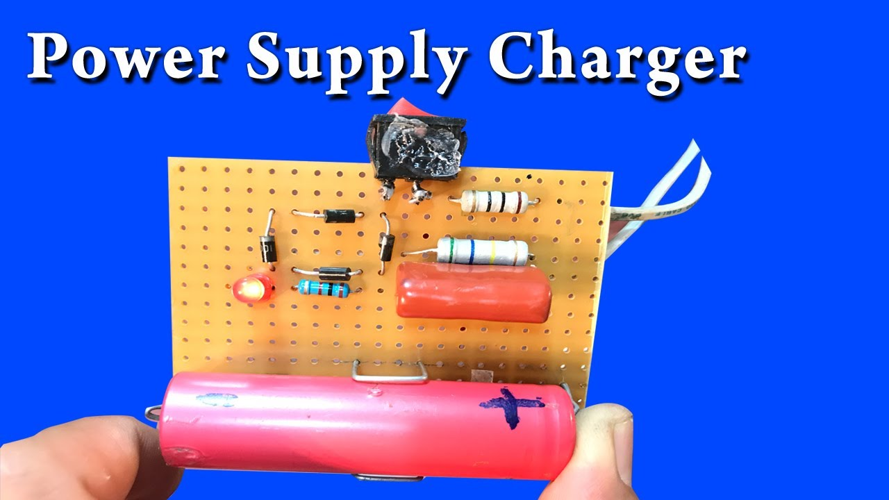 How To Make Transformerless Power Supply For Charger Battery Youtube Design Part 2