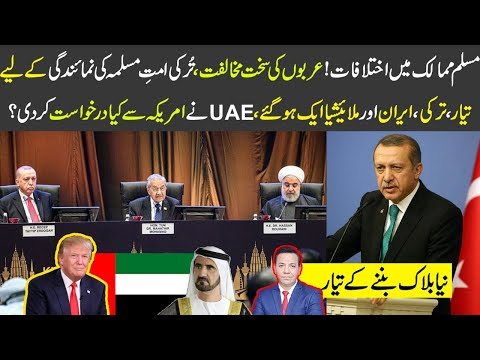 ترکی ،ایران اور ملائیشیا ایک ہوگئے،UAE نے امریکہ سے کیا درخواست کر دی؟