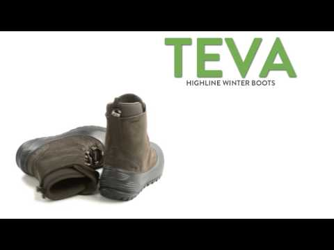 Teva Highline Winter Boots - Waterproof, Insulated (For Men)