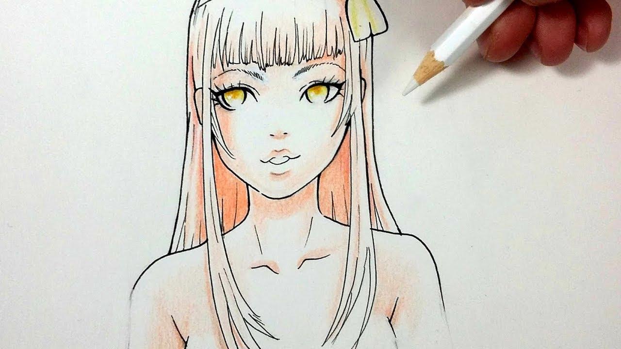 Comment dessiner un visage Manga #1