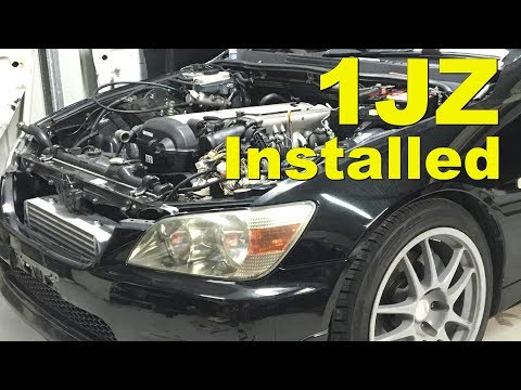 1JZGTE Lexus IS200 Conversion