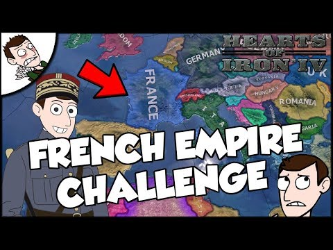 France Tries to Make a New Empire Challenge Hearts of Iron 4 hoi4 Modern Day Mod