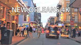 New Orleans 4k - Sunset Drive - Usa