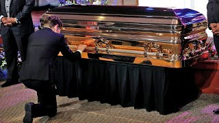 Watch in full: George Floyd memorial held in Minneapolis for family and friends