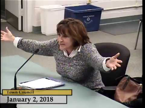 Enfield, CT - Town Council - January 2, 2018