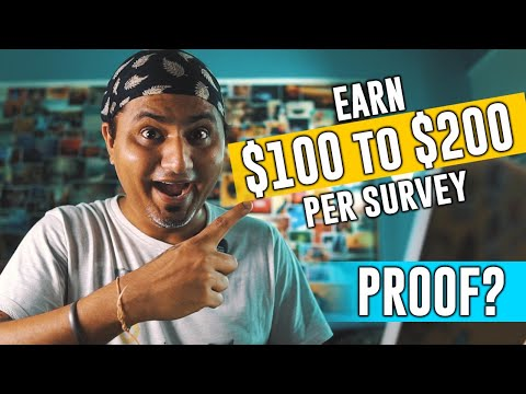 EARN $100 PER SURVEY | Reality of ONLINE SURVEYS and Best Survey Sites?