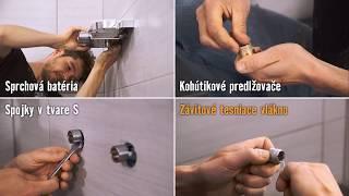 Montáž sprchovej batérie