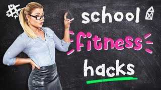 8 BACK TO SCHOOL FITNESS HACKS | Sophia Thiel