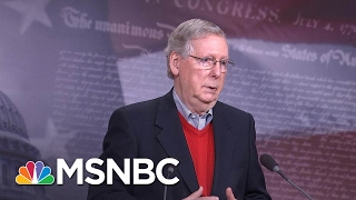 Mitch McConnell Asked About Mike Pence, Russian Contacts At Press Conference | MSNBC